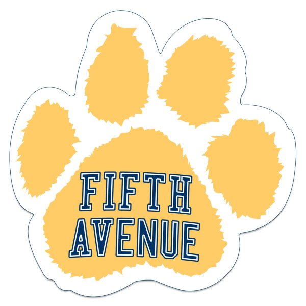 Fifth Avenue Paw Magnet