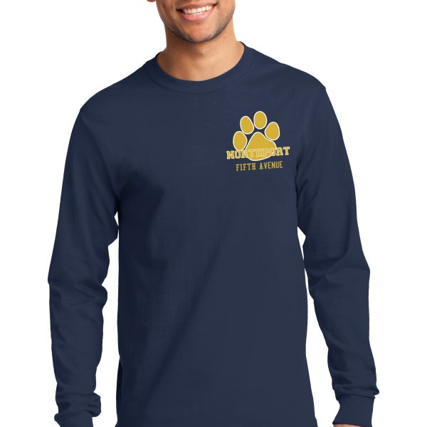 Men's Fifth Avenue Paw Long Sleeve Tee