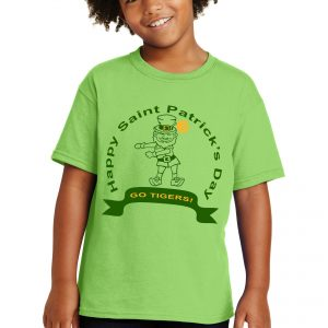 St Pattrick's Go Tigers Youth Tee