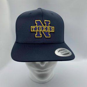 Northport Tigers 3D Ball Cap - Navy