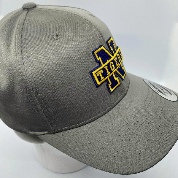 Northport Tigers 3D Ball Cap - Grey