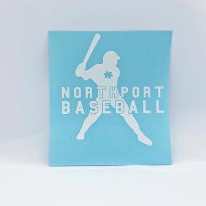 Northport Baseball Decal