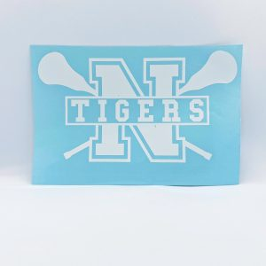 Northport Tigers Lacrosse Decal