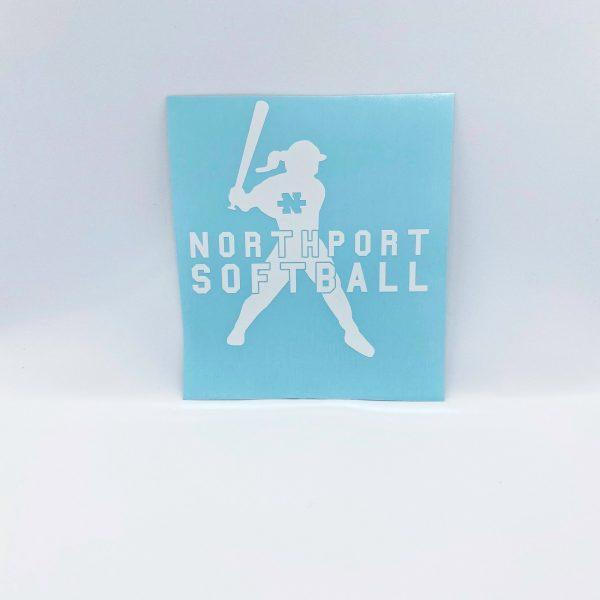 Northport Softball Decal