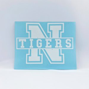 Northport Tigers Logo Decal